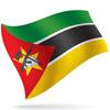 vlajka Mosambik