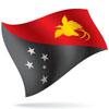 vlajka Papua-Nová Guinea