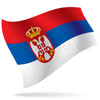 vlajka Srbsko