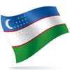 vlajka Uzbekistán