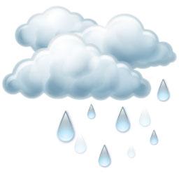 Slabý déšť