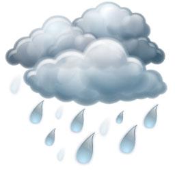Silný déšť